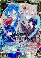 HAPPY VALENTINE!! 【ZXE06-021ZXR】